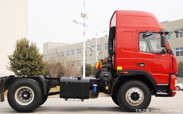 现场交车2台上海大运N8H牵引交付客户