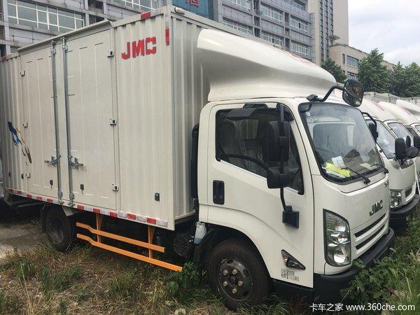 新车优惠南京凯运升级版载货仅10.7万