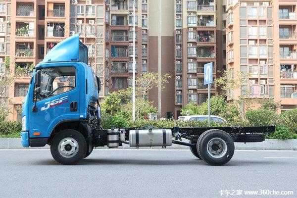 冲刺销量海口J6F载货车仅售13.98万元