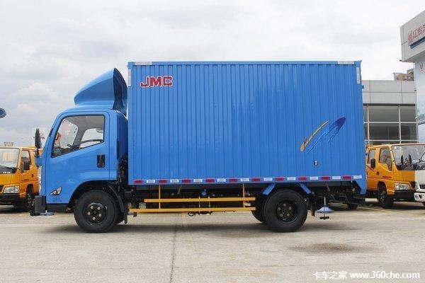冲刺销量湛江凯运升级版载货售11.45万