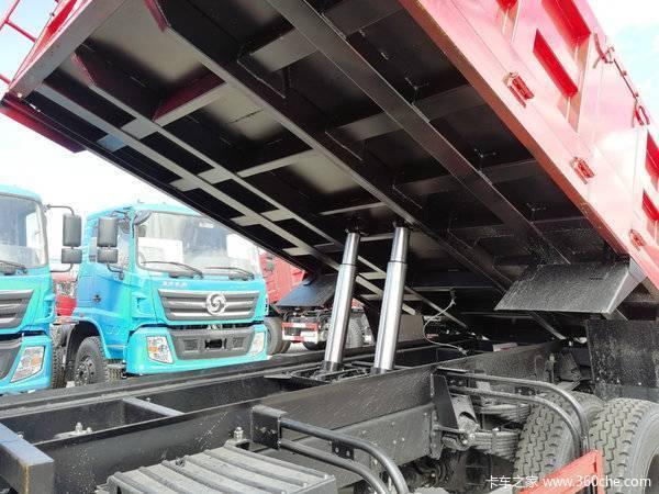 旺季促销川交160单桥自卸车13.78万起