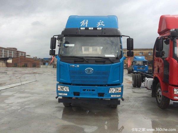 新车促销江门解放J6L载货车现售15.4万