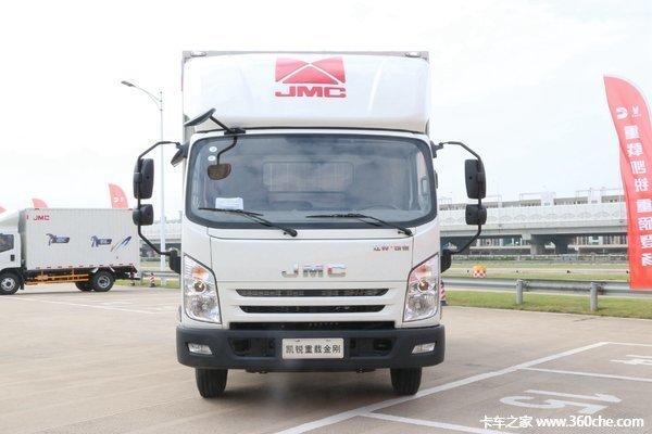新车促销阳江江铃凯锐重载版售13.2万
