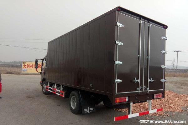 让利促销海口解放J6F厢式载货13.98万