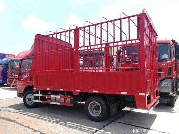 直降0.5万元长沙解放J6F载货车促销中