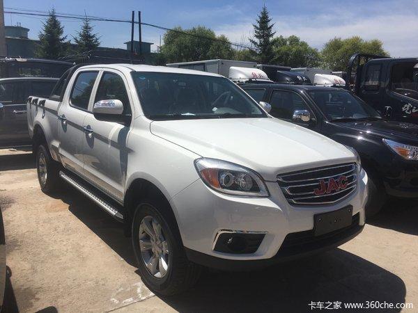 新车促销延边帅铃T6皮卡现售9.58万元
