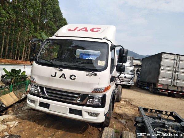 新车促销深圳骏铃V6载货车现售12.3万