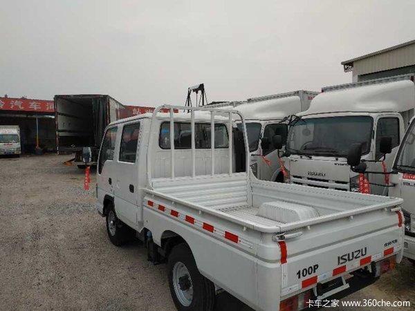 仅售10.8万河源五十铃100P货车促销中
