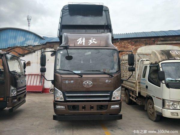 新车促销玉溪虎V载货车现售12.08万元