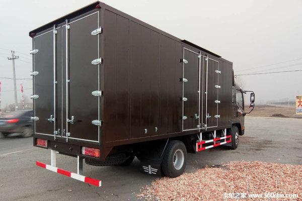 让利促销海口J6F载货车现售13.98万元