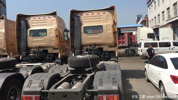 降1.0万元哈尔滨豪沃T7H高寒版牵引车