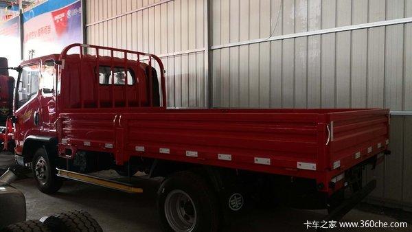 绵阳茜南汽车城J6F载货车成功交付客户