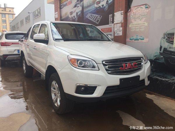 新车促销楚雄江淮皮卡T6现售10.98万