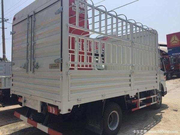 仅售10.1万元咸阳骏铃V6载货车促销中