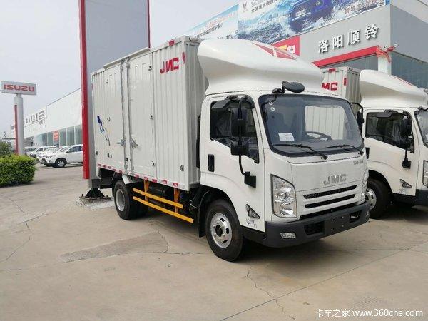 直降0.3万洛阳凯锐N800载货车促销中