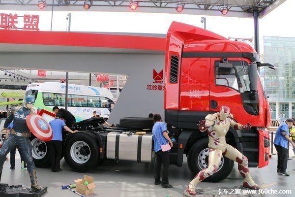 新车促销湛江江铃威龙牵引车售36.6万