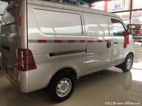 新车优惠临沧V3封闭货车只售3.38万元
