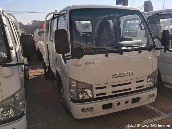 大连卡车市场五十铃100p双排仅10.58万