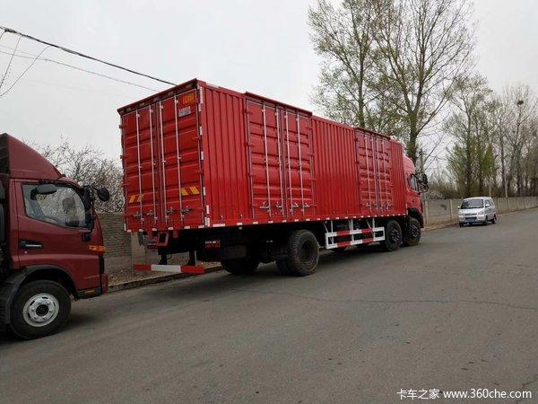 江淮格尔发9.5米厢车降价2万