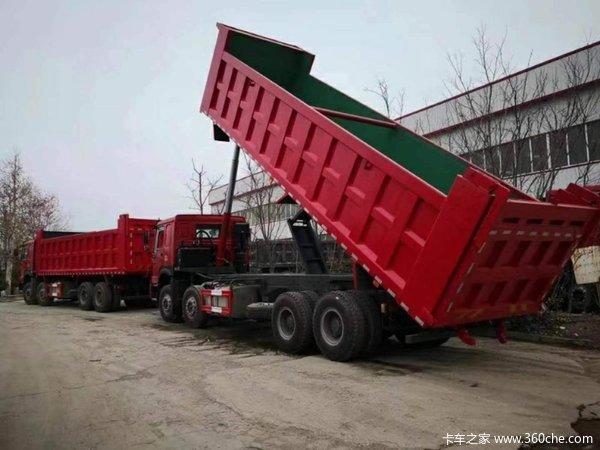 直降1.5万元济南川广HOWO自卸车促销中