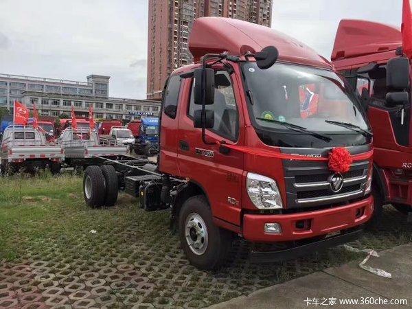 巅峰让利长沙福田瑞沃载货车直降3.0万