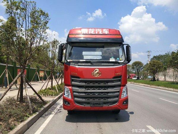 新车到店重庆乘龙H7牵引车仅售33.8万
