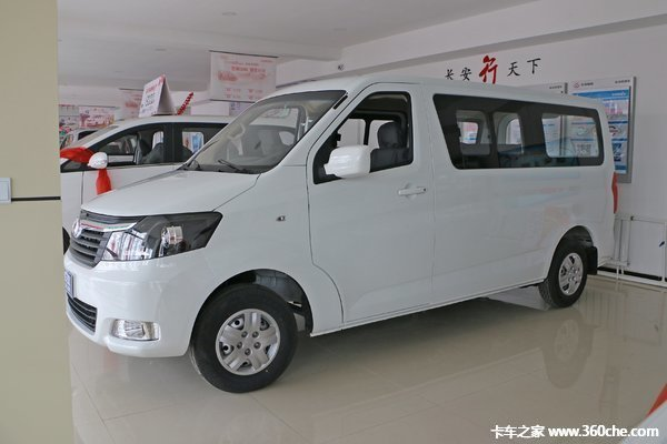新车促销茂名长安睿行M70现售6.45万元