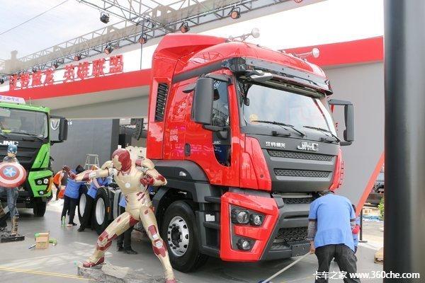让利促销湛江江铃威龙牵引车售36.6万