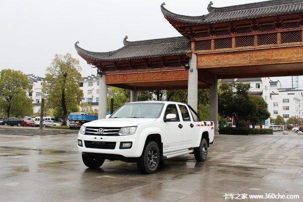 新车促销湛江骐铃T7皮卡现售9.18万元