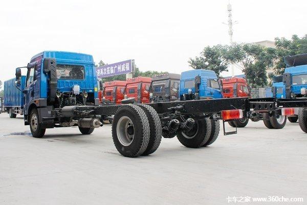 新车促销海口解放龙V载货车现售12.2万
