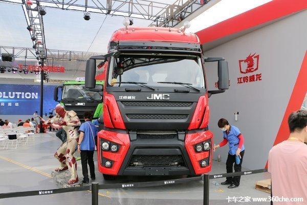 仅售36.6万湛江江铃威龙牵引车促销中