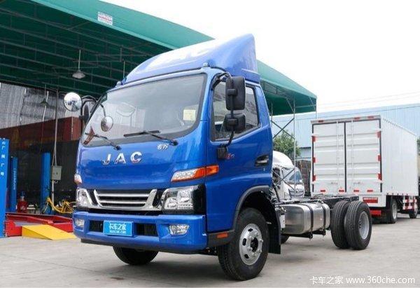 回馈用户深圳骏铃V6载货车钜惠0.9万元