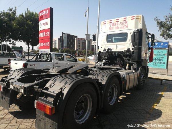 新车促销宁夏日野700牵引车售39.18万