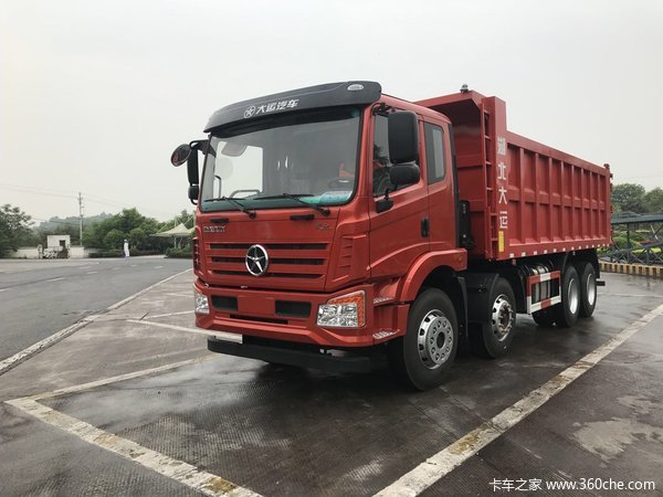 新车到店重庆风驰自卸车仅售26.5万元