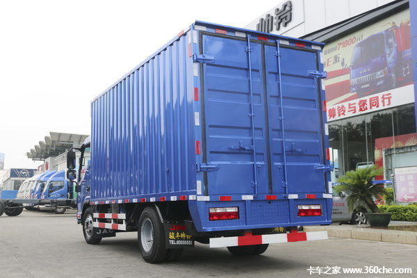 仅售9.18万元海口帅铃K载货车促销中
