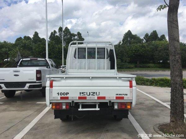 仅售11.78万惠州五十铃100P货车促销中