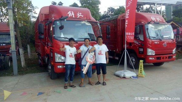 中国一汽解放轻卡英雄王者披甲纵横