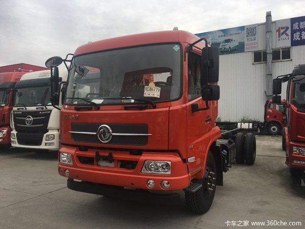 直降1.0万元成都东风天锦载货车促销中