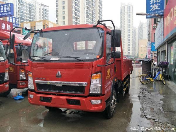 重汽HOWO轻卡悍将平板自卸仅售12.6万