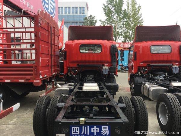 仅售12.08万元成都J6F载货车促销中