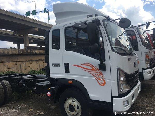 新车促销昆明豪曼载货车现售11.98万