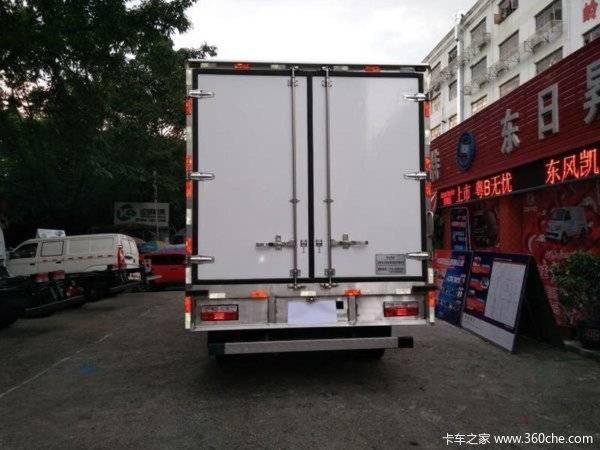 仅售19.1万深圳凯普特K6冷藏车促销中