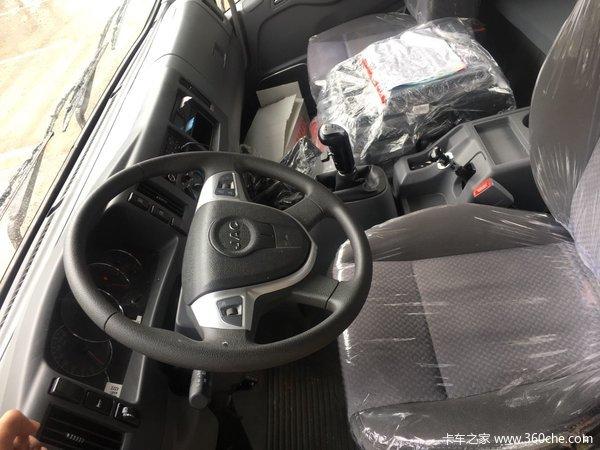 新车上市帅铃威司达载货车现售16.58万