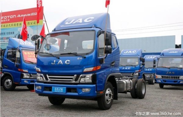 仅售12.38万元深圳骏铃V6载货车促销中