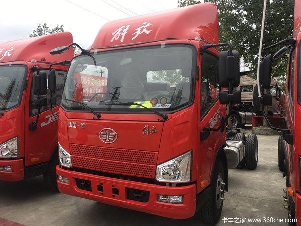 新车促销成都J6F载货车现售12.08万元
