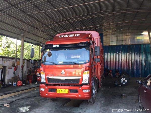 南充润生汽贸悍将载货车成功交付客户