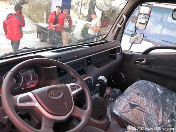 冲刺销量贵阳骏铃V6载货车仅售12.58万