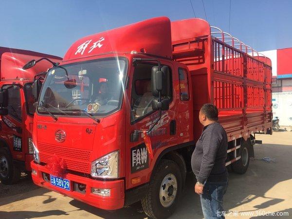 直降1.1万元昆明J6F载货车双十一促销
