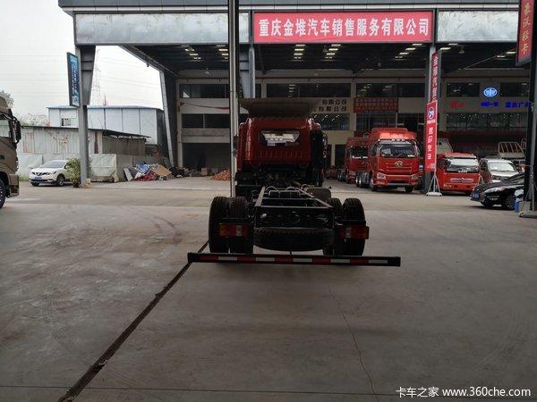 冲刺销量重庆G5X载货车底盘仅售16万元