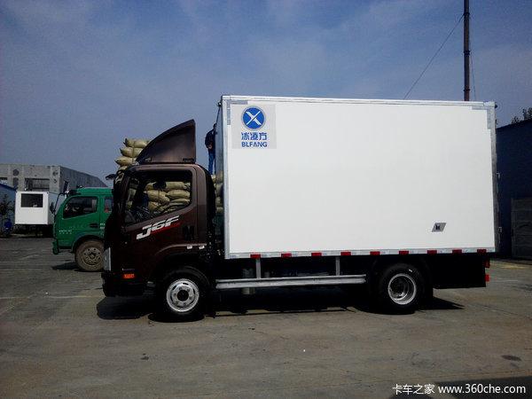 冲刺销量 解放J6F小型冷藏车促销中